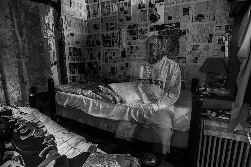 "Nassim Rouchiche captures from his ""ça va waka"" exhibition in Bamako, Mali. 2015."