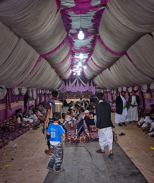 Wedding_Tent,_Sana'a_(14381190124)