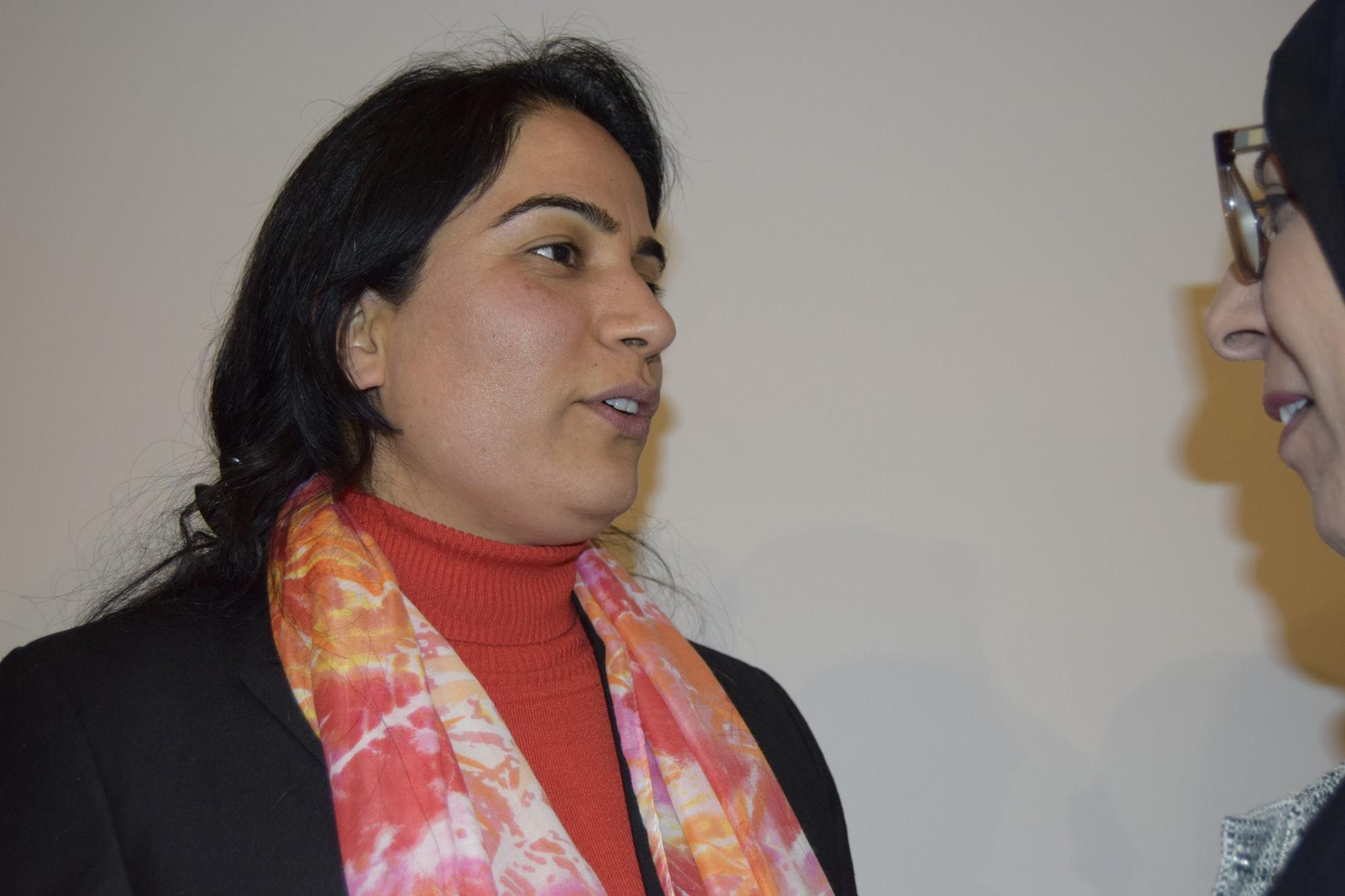 Malalai Joya during her visit in Copenhagen, Denmark. Photo: Mir Jalali.