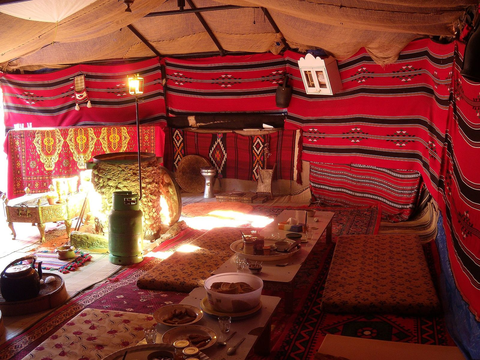 Bedouin Meditation Camp, Wadi Rum, Jordan. May 6, 2010. Photo by anagh, via panoramio.com.
