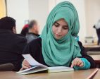 This Turkish woman moved to Palestine to study at the university