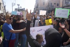 "The Women's Intifada continues: ""Don't fear the revolution, my women"""