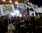 "IN PICTURES: 70,000 Israelis at Rabin rally: ""Tonight we go to war for democracy"""