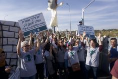 IN PICTURES: Israelis and Palestinians march for peace and justice