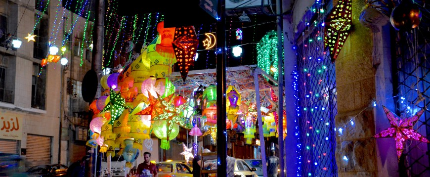 Wanderlusting in Ramadan's sparkling nights