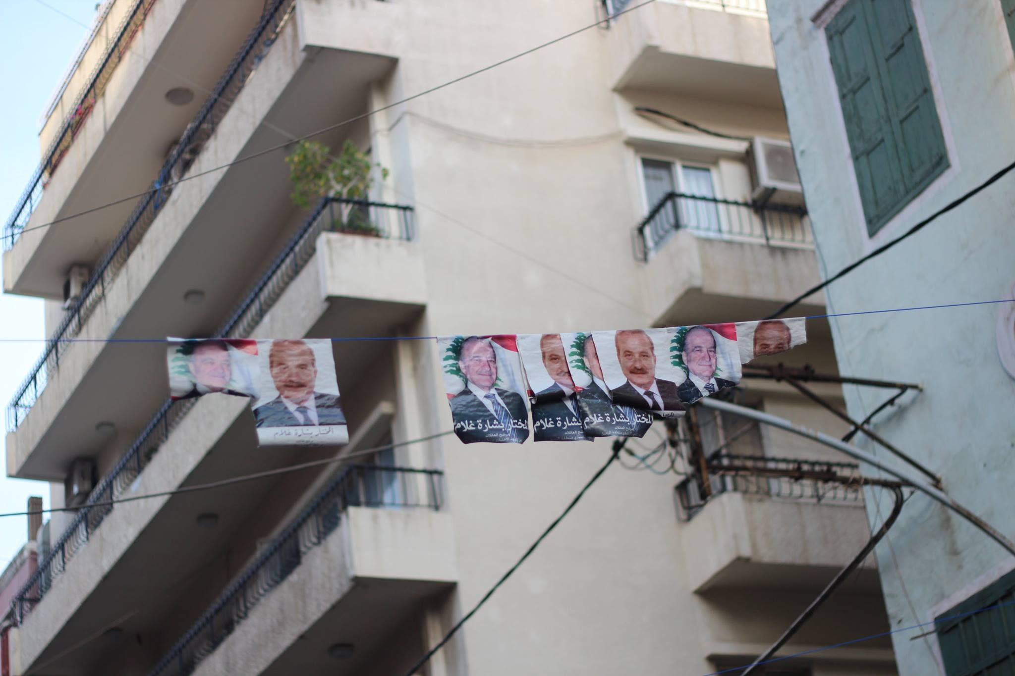 Candidates for the Beirut elections. Photo: The Turban Times