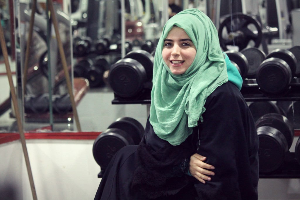 Rukeiya Demier, a 26-year-old Turkish Muslim girl from Diyarbakır. Credit: Asmaa Elkhaldi/The Turban Times