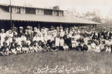 """Celebration of the New Generation Islamic Congregation"", c. 1920s. Photo HS16470. Collection: Julia F. Haragely papers. Source: Bentley Historical Library, University of Michigan."