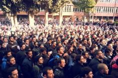 The student revolution of the University of Jordan