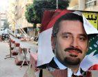 Lebanese students divided over Prime Minister Saad Hariri's return