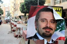Lebanese students divided over Prime Minister Saad Hariri's return