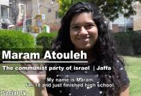 100 Voices: Maram Atouleh from Jaffa