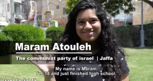 100 Voices: Maram Atouleh from Jaffa