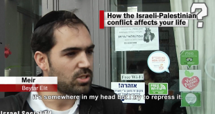 WATCH: Israelis being asked, how does the conflict affect you?