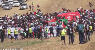 WATCH: On Israel's Independence Day, thousands march for Palestinian right of return